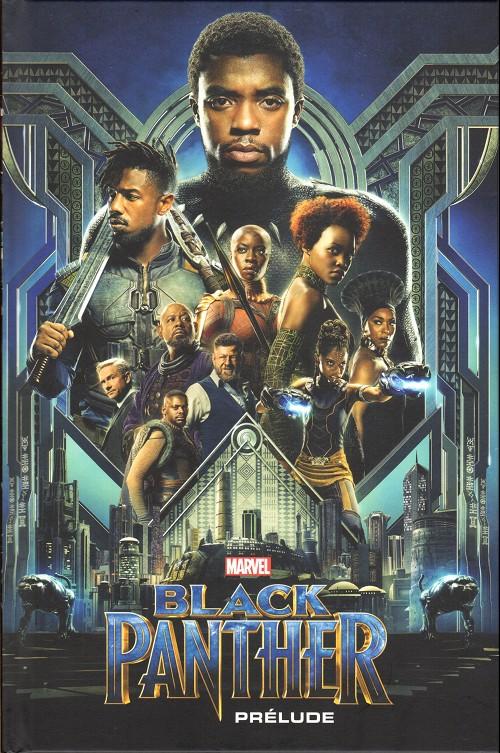 Couverture de Marvel Cinematic Universe  -9- Black Panther - Prélude