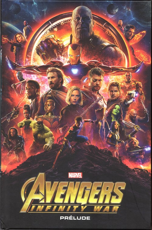 Couverture de Marvel Cinematic Universe  -10- Avengers: Infinity War - Prélude