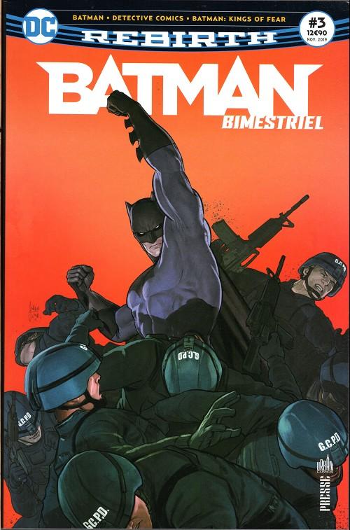 Couverture de Batman Bimestriel (Urban Comics) -3- Tome 3