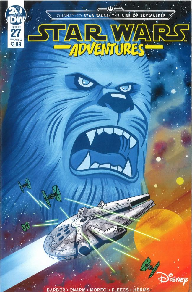 Couverture de Star Wars Adventures (2017) -27- Ghost of Kashyyyk Part 1