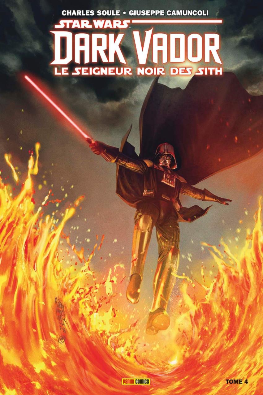 Couverture de Star Wars - Dark Vador : Le Seigneur noir des Sith -4- La Forteresse de Vador