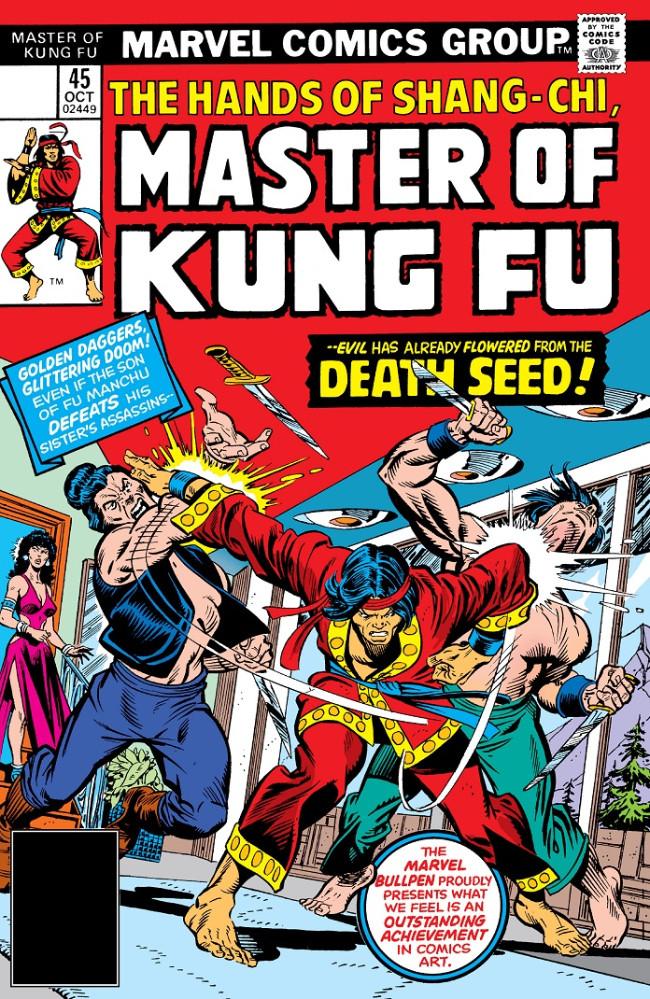 Couverture de Master of Kung Fu Vol. 1 (Marvel - 1974) -45- Death Seed!