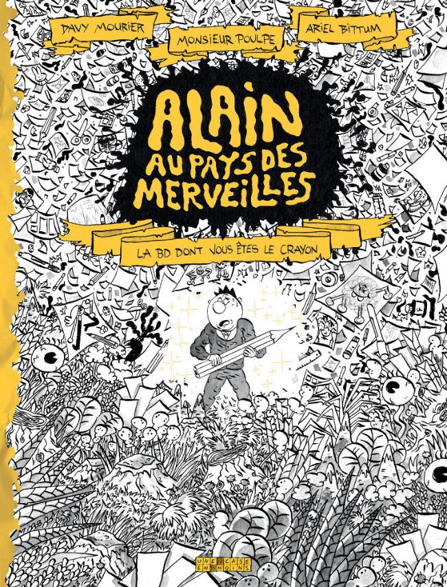 Couverture de Alain au Pays des Merveilles - Tome 1