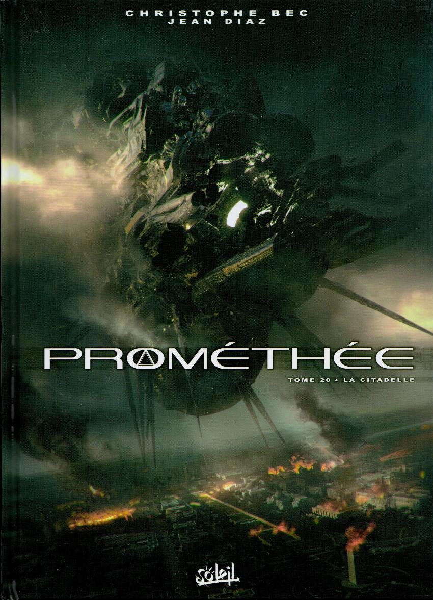 Couverture de Prométhée -20- La Citadelle