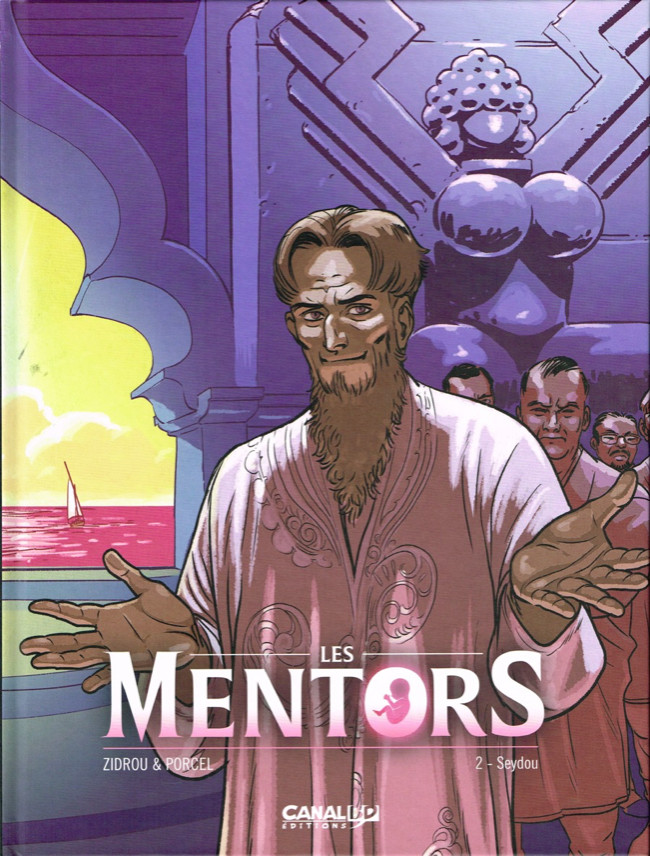 Couverture de Les mentors -2TL- Seydou