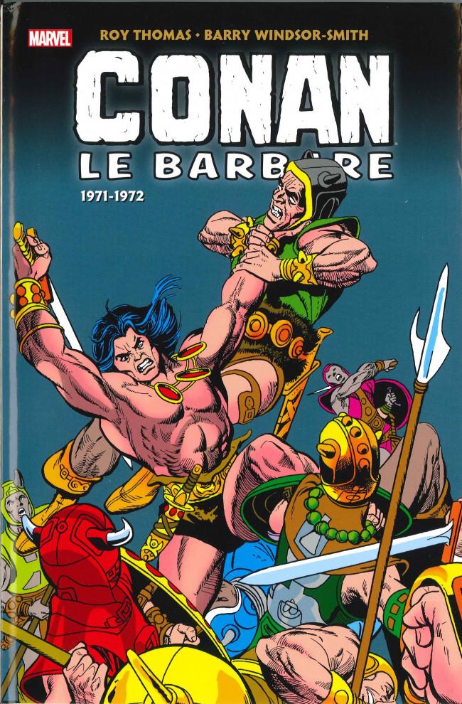 Couverture de Conan le barbare : l'intégrale -2- 1971-1972