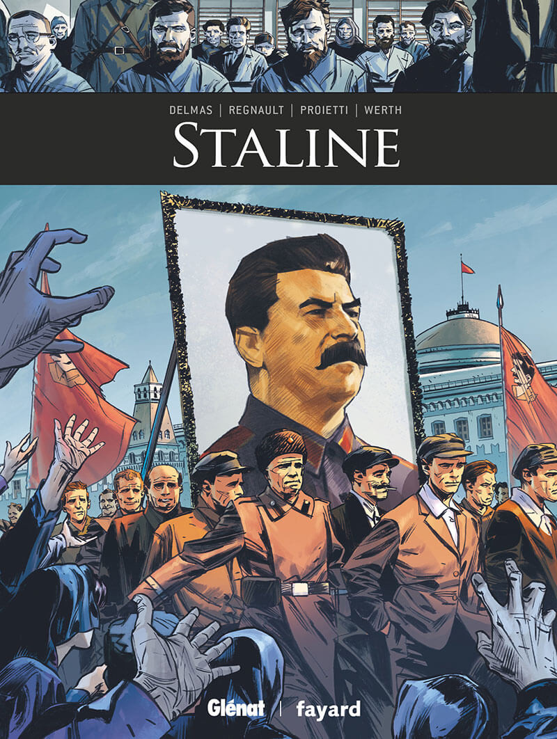 Couverture de Ils ont fait l'Histoire -32- Staline
