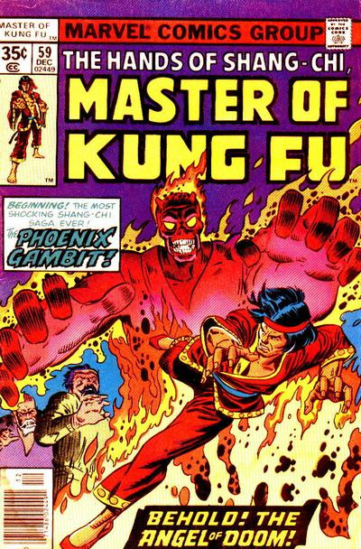 Couverture de Master of Kung Fu Vol. 1 (Marvel - 1974) -59- Behold! The Angel of Doom!