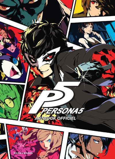 Couverture de Persona 5 -HS- Artbook officiel