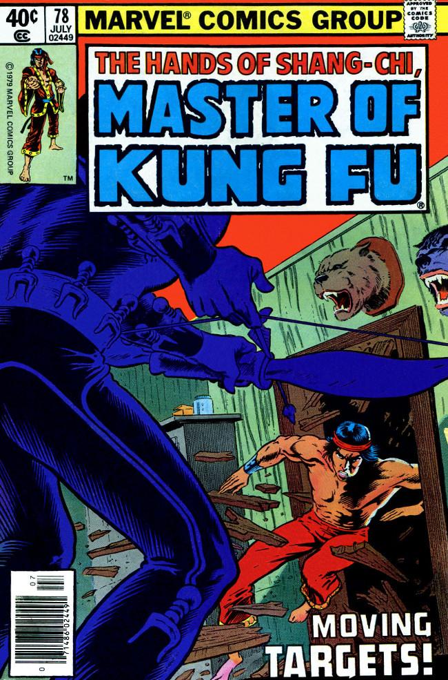 Couverture de Master of Kung Fu Vol. 1 (Marvel - 1974) -78- Moving Targets!
