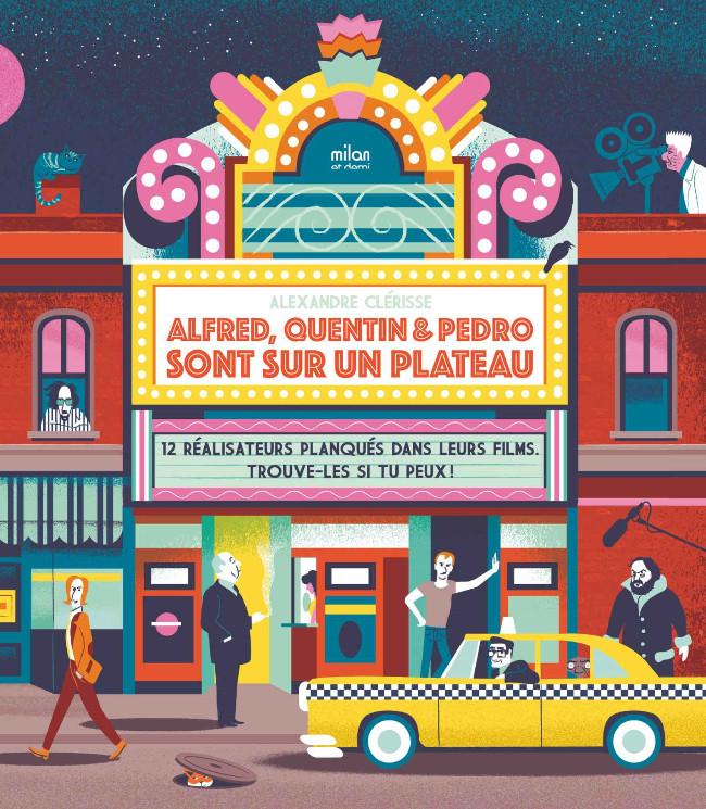 Couverture de (AUT) Clérisse -2019- Alfred, Quentin et Pedro sont sur un plateau