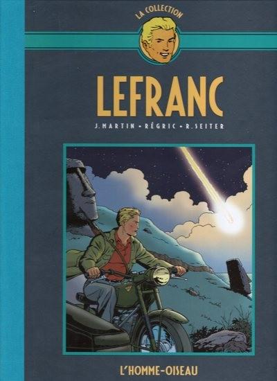 Couverture de Lefranc - La Collection (Hachette) -27- L'homme-oiseau