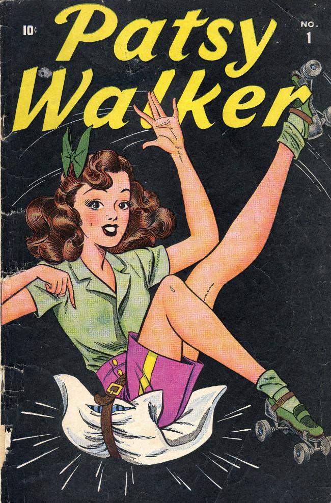 Couverture de Patsy Walker (Timely/Atlas - 1945) -1- Patsy Walker