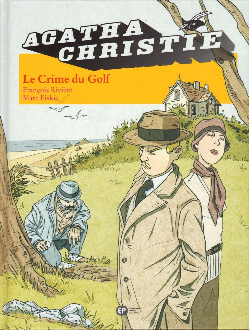 Couverture de Agatha Christie (Emmanuel Proust Éditions) -7- Le Crime du Golf