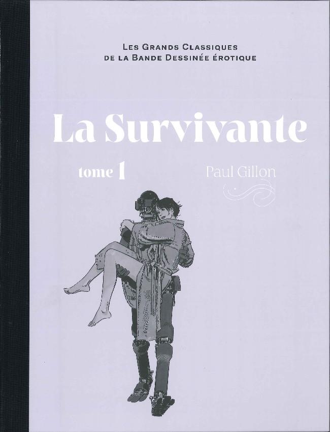 Couverture de Les grands Classiques de la Bande Dessinée érotique - La Collection -93104- La Survivante - Tome 1