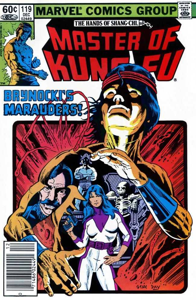 Couverture de Master of Kung Fu Vol. 1 (Marvel - 1974) -119- Brynocki's Marauders!