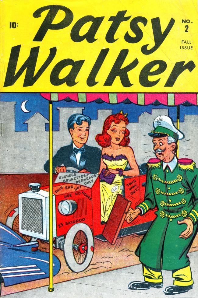 Couverture de Patsy Walker (Timely/Atlas - 1945) -2- (sans titre)