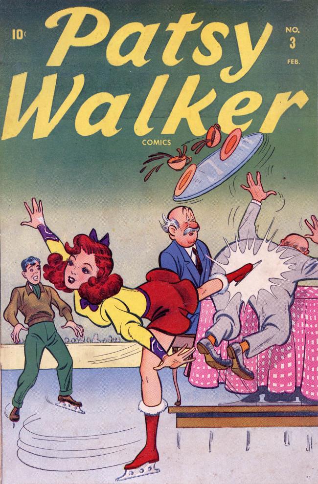 Couverture de Patsy Walker (Timely/Atlas - 1945) -3- (sans titre)