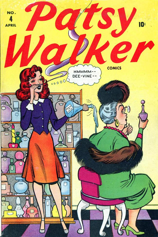 Couverture de Patsy Walker (Timely/Atlas - 1945) -4- (sans titre)