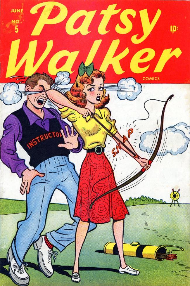 Couverture de Patsy Walker (Timely/Atlas - 1945) -5- (sans titre)