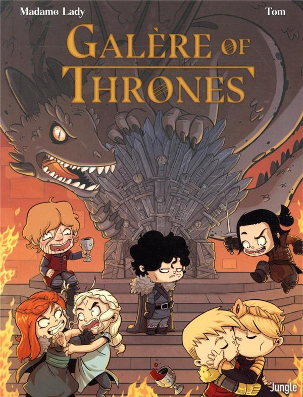 Couverture de Galère of Thrones