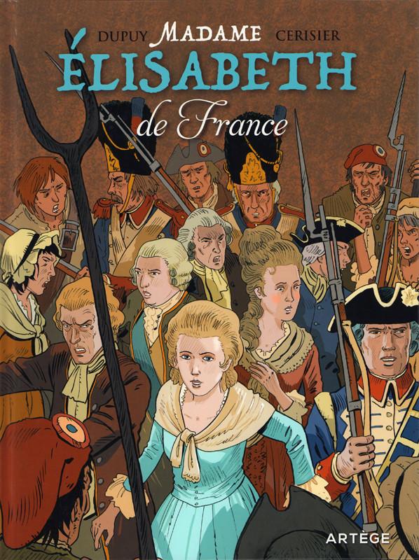Couverture de Madame Elisabeth de France