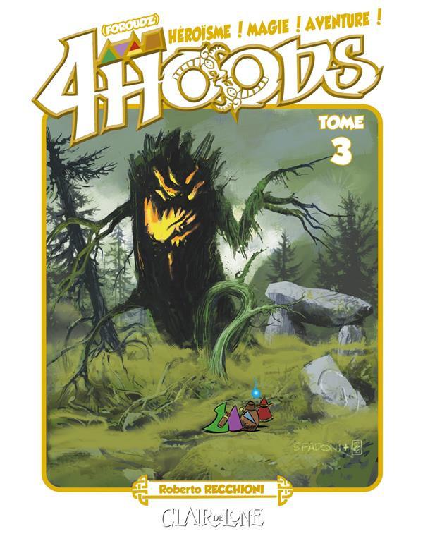 Couverture de 4Hoods -3- Tome 3