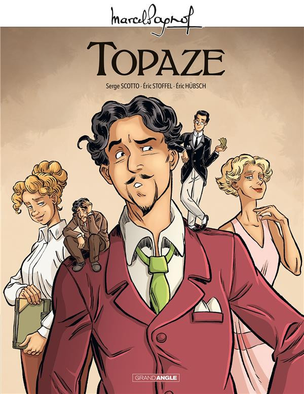 Couverture de Topaze - Tome INT
