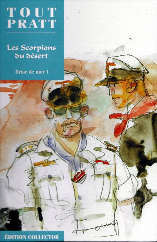 Couverture de Tout Pratt (collection Altaya) -25- Les scorpions du désert - Brise de mer 1