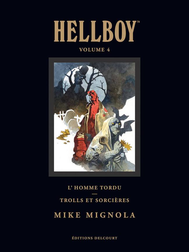 Couverture de Hellboy (Intégrale Deluxe) -4- Volume 4