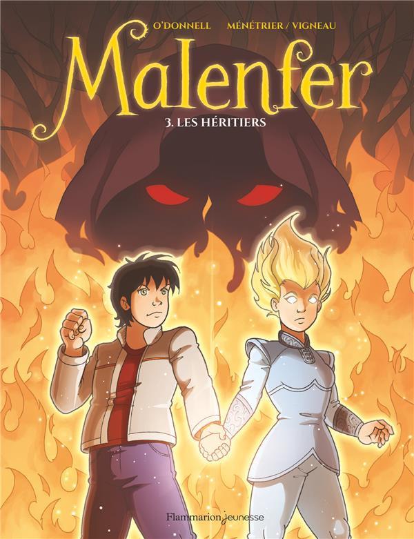 Couverture de Malenfer -3- Les héritiers