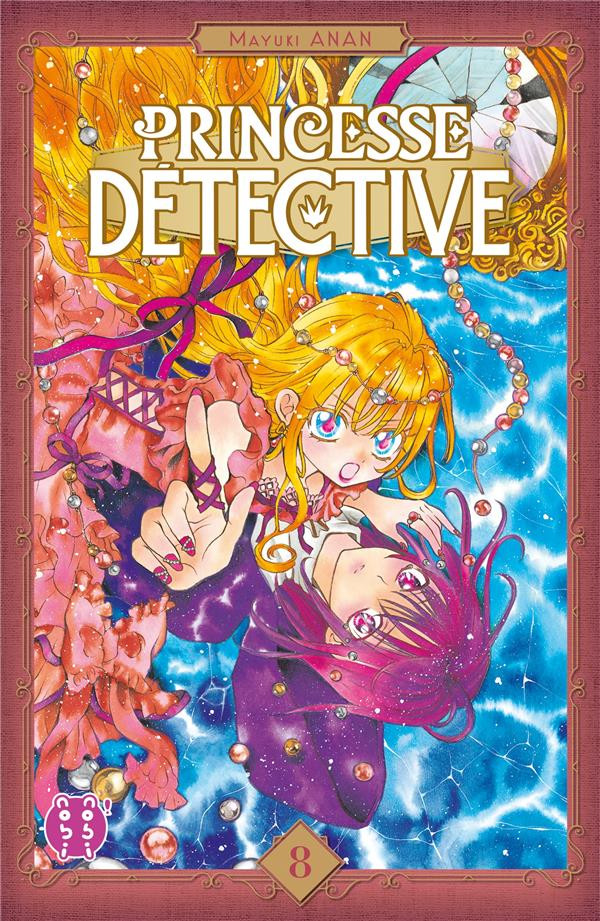 Couverture de Princesse détective -8- Tome 8