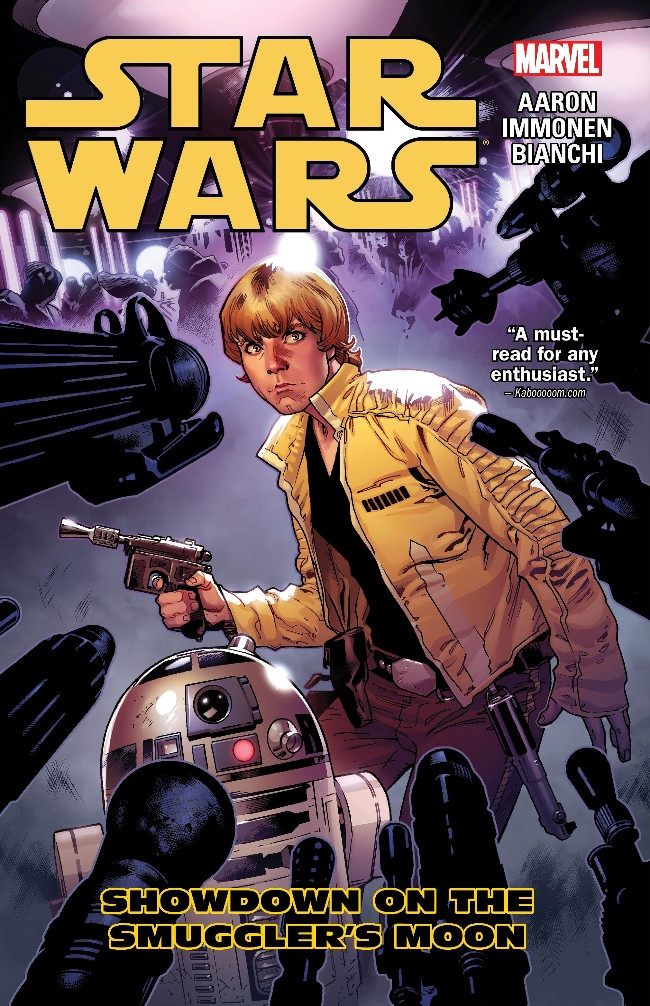 Couverture de Star Wars Vol.2 (Marvel comics - 2015) -INT2- Showdown on the Smuggler's Moon