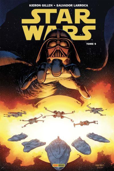 Couverture de Star Wars (Panini Comics - 100% Star Wars) -9- La Mort de l'espoir