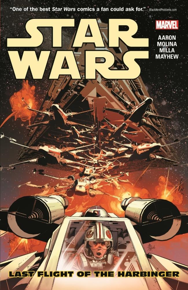 Couverture de Star Wars Vol.2 (Marvel comics - 2015) -INT4- Last Flight of the Harbinger