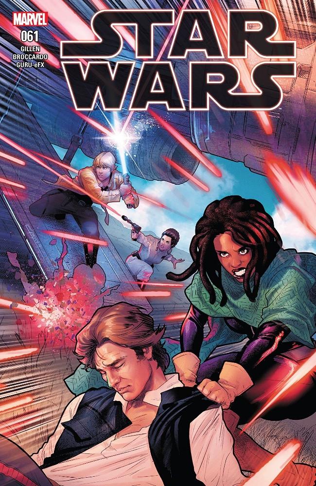 Couverture de Star Wars Vol.2 (Marvel comics - 2015) -61- The Escape, Part VI