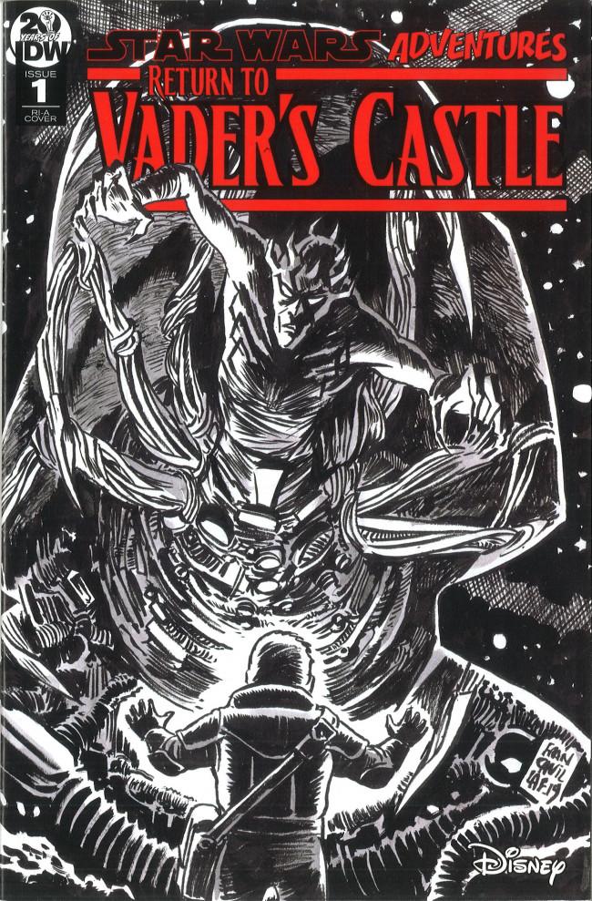 Couverture de Star Wars Adventures - Return to Vader's Castle -1- The Horned Devil