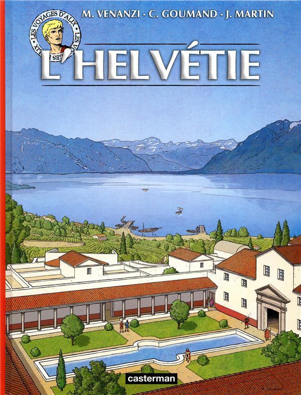 Couverture de Alix (Les Voyages d') -40- L'Helvétie