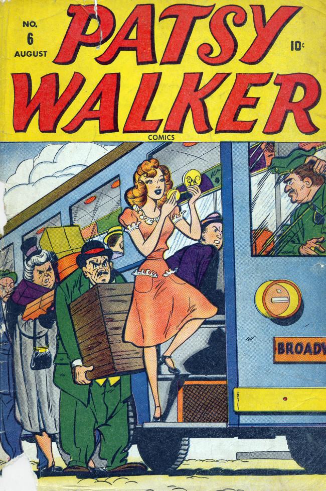 Couverture de Patsy Walker (Timely/Atlas - 1945) -6- (sans titre)
