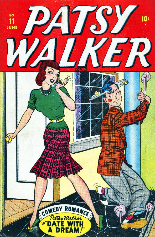 Couverture de Patsy Walker (Timely/Atlas - 1945) -11- Date with a Dream!