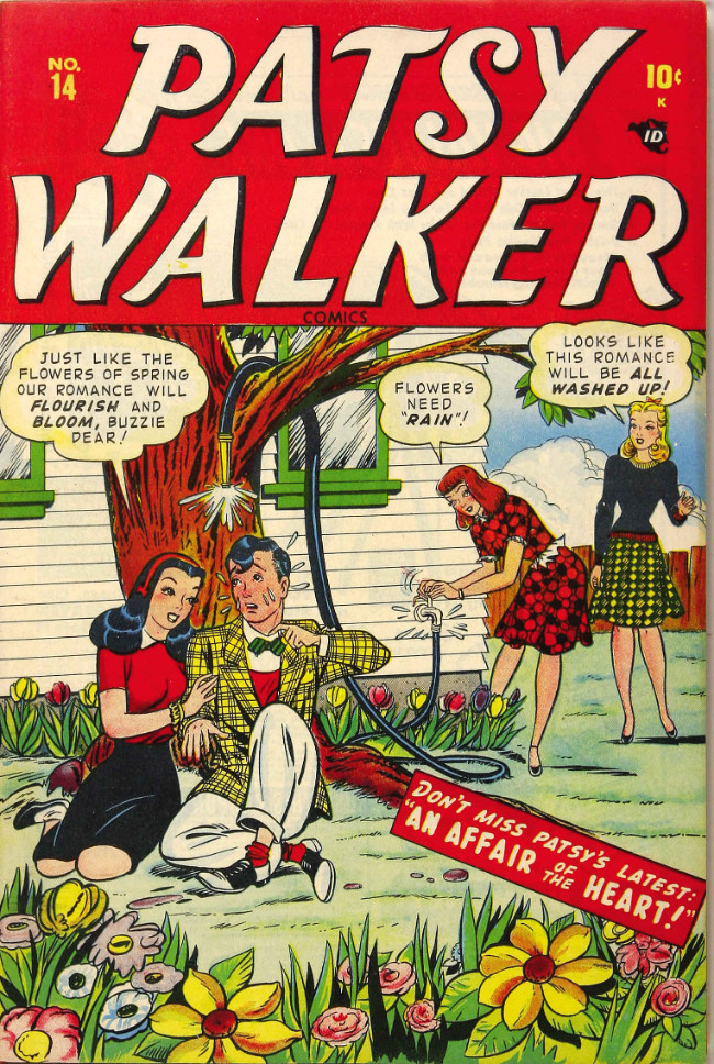 Couverture de Patsy Walker (Timely/Atlas - 1945) -14- An Affair of the Heart!