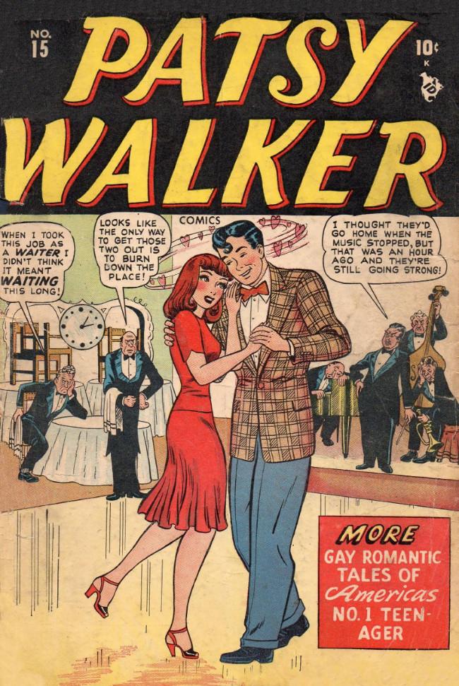 Couverture de Patsy Walker (Timely/Atlas - 1945) -15- (sans titre)