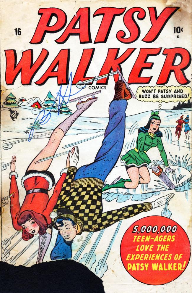 Couverture de Patsy Walker (Timely/Atlas - 1945) -16-