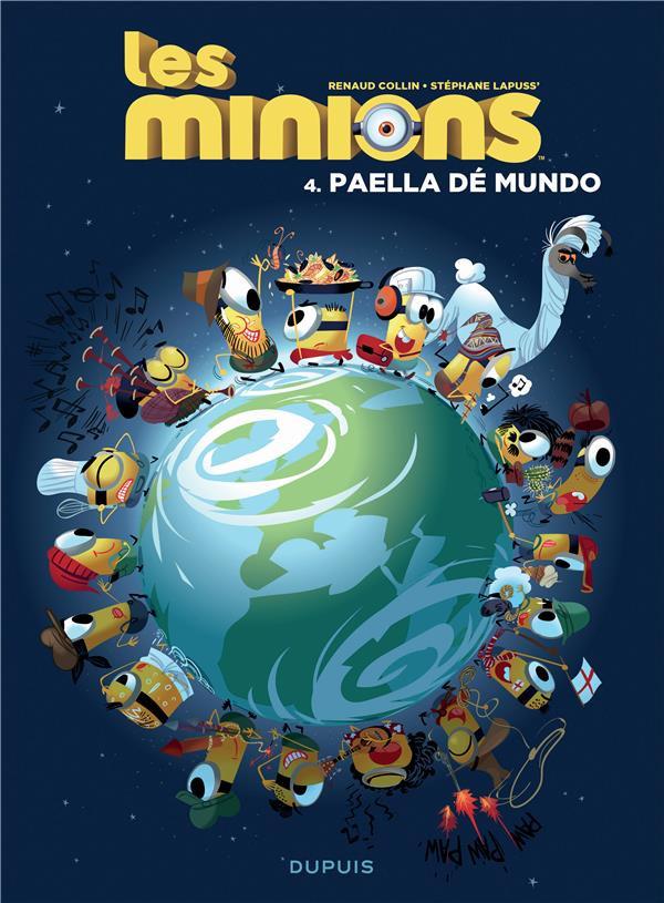 Couverture de Les minions -4- Paella dé mundo
