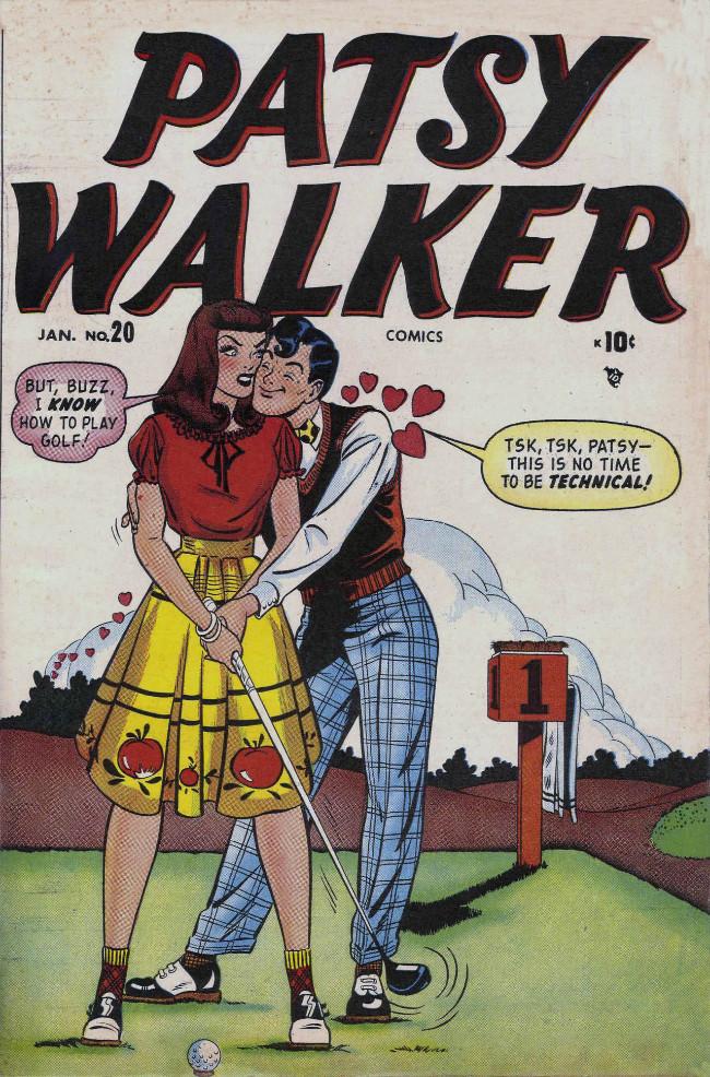 Couverture de Patsy Walker (Timely/Atlas - 1945) -20- (sans titre)