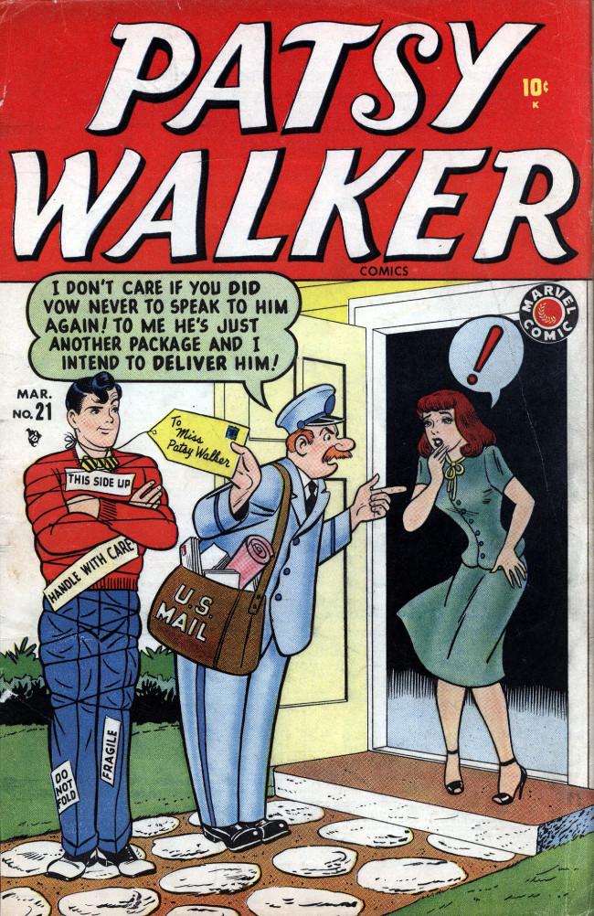 Couverture de Patsy Walker (Timely/Atlas - 1945) -21- (sans titre)