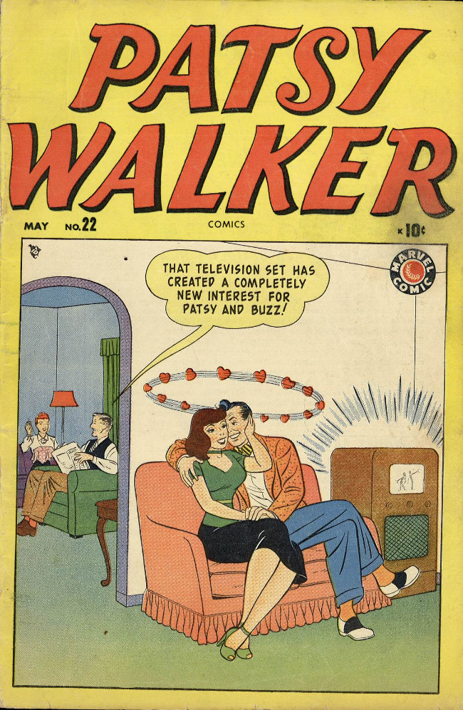 Couverture de Patsy Walker (Timely/Atlas - 1945) -22- (sans titre)