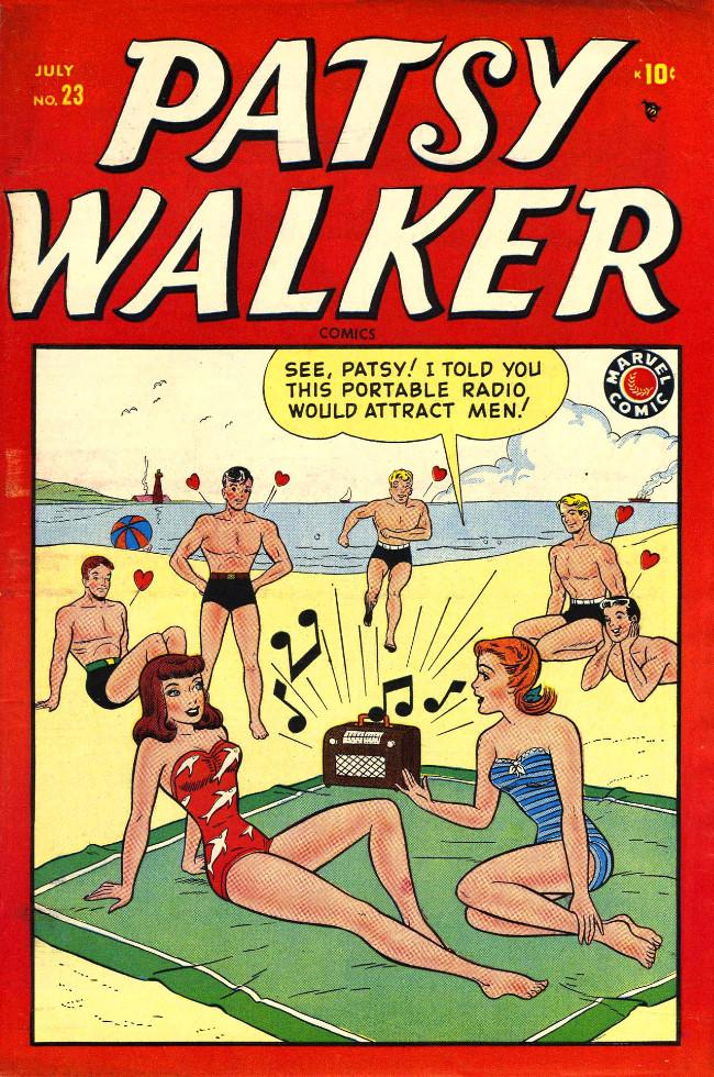 Couverture de Patsy Walker (Timely/Atlas - 1945) -23- (sans titre)