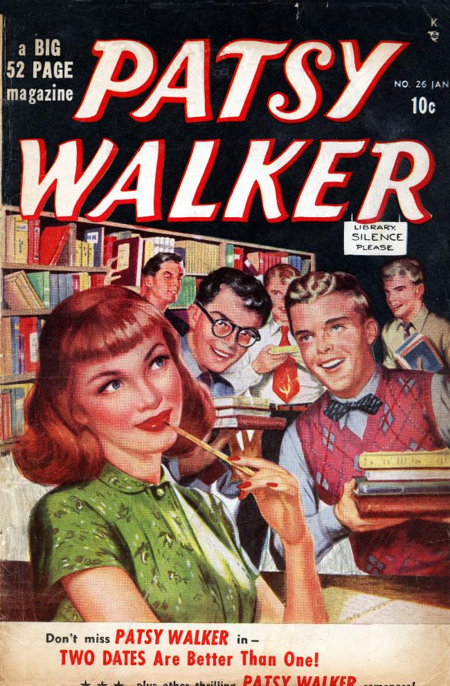 Couverture de Patsy Walker (Timely/Atlas - 1945) -26- (sans titre)