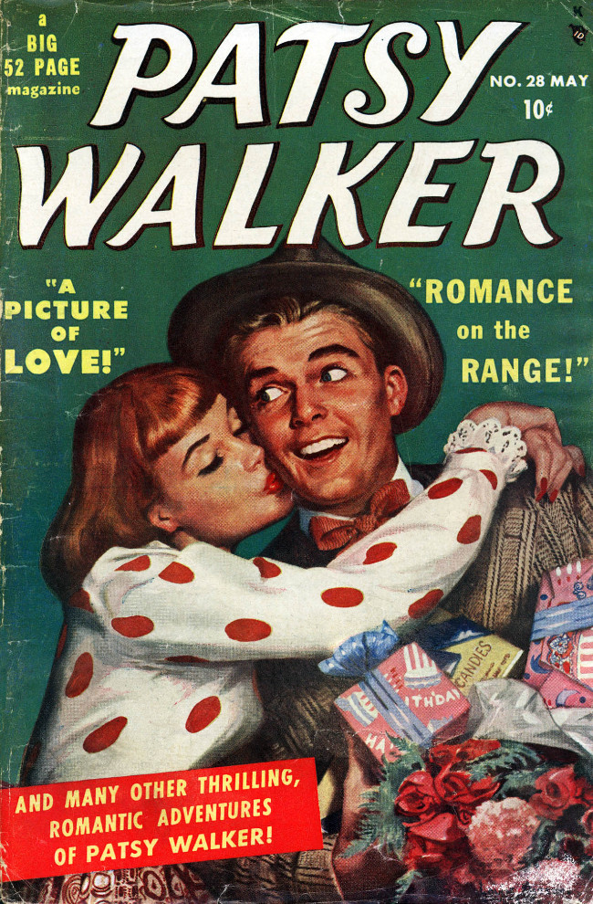 Couverture de Patsy Walker (Timely/Atlas - 1945) -28- A Picture of Love!